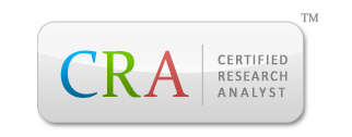 Certified Research Analyst (CRA)